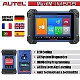 Autel MaxiIM IM608 Key Programming Diagnostic Tool with XP400 Key Programmer and J2534 ECU Reprogrammer, Advanced Key Programming, OE-Level All Systems Diagnostics, and Oil Reset/EPB/SAS/DPF/BMS/TPMS