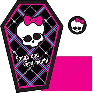 Postcard Thank Yous   Monster High Collection   Party Accessory