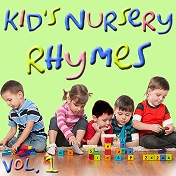 Kid's Nursery Rhymes, Vol. 1