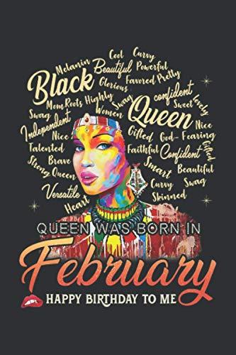 Aquarius African Pride Queen Was Born In February (Dream Journal): Dream Tree Journal Notebook, Dream Journal Notebook For Men