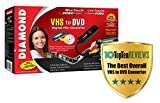 Diamond VC500 USB 2.0 One Touch VHS to DVD Video Capture Device with Easy to use Software, Convert, Edit and Save to...