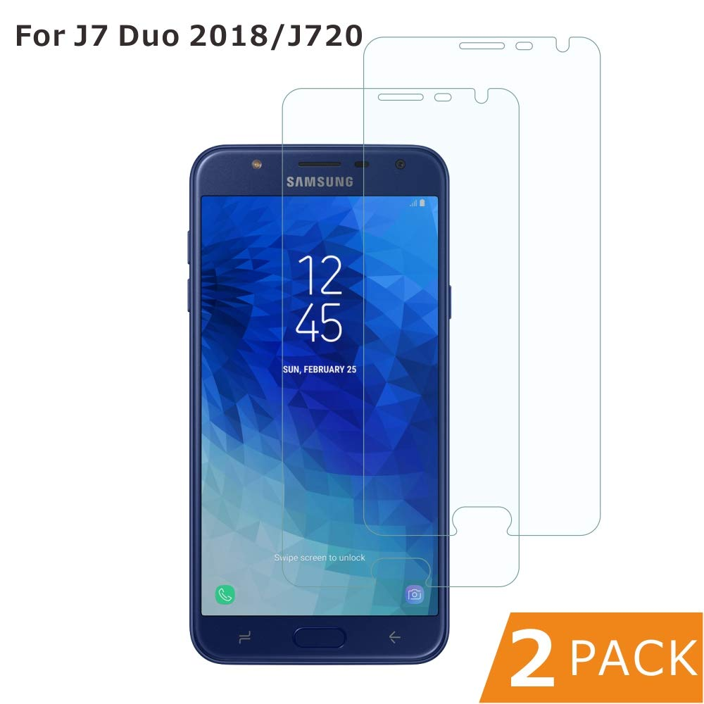 BESTCASESKIN [2-Pack Protector Pantalla Samsung Galaxy J7 Duo 2018 ...