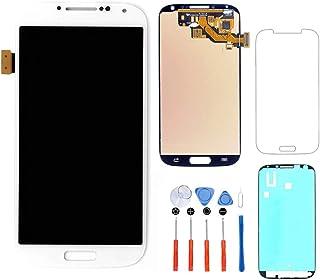 02aea7f27d3 Hezbjiti Compatible con Samsung Galaxy S4 i9500 i9505 i337 m919 Reemplazo  de Pantalla LCD + Kit