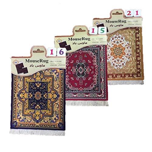 Case Cover Random-Art-Mini gewebten Teppich-Matte Mousepad Teppich Muster Cup Mauspad mit Fring-Art-Haus-Büro-Tabellen-Dekor-Craft