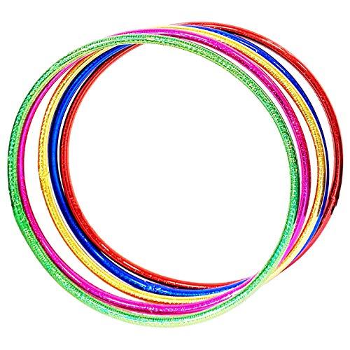 Acan Set de 5 Hula Hoops de 55 cm Colores Surtidos