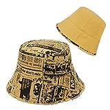 GEMVIE-Gorro Pescador Hombre Reversible Sombrero de Pescador Mujer Trap Verano Gorro Pescador Hombre Basket Usar en...