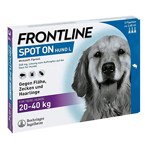 Frontline Spot on Hund L 268 mg, 3 St