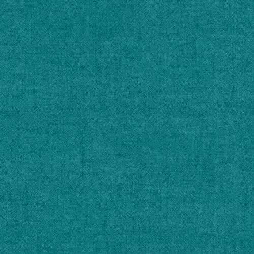 Carta da parati tnt (tessuto non tessuto) tinta unita monocolore Azurro Verde 371755 37175-5 A.S. Création Ethnic Origin | Azurro/Verde | Rotolo (10,05 x 0,53 m) = 5,33 m²