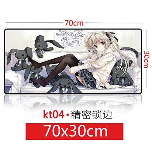 E-Sport-Mauspad süßes übergroßes Spiel, Schokolade 3070 Schwester, 300x800x3mm