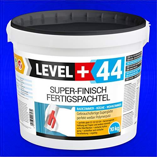 Super Finish Spachtel 10kg Fertigspachtel Q4 Perfekt Glätt Flächen Füll für Küche Bad Wohnzimmer RM44