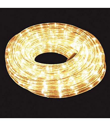 Maurer 5490001 Guirlande lumineuse tube de Noël Blanc Usage extérieur IP44 10 m