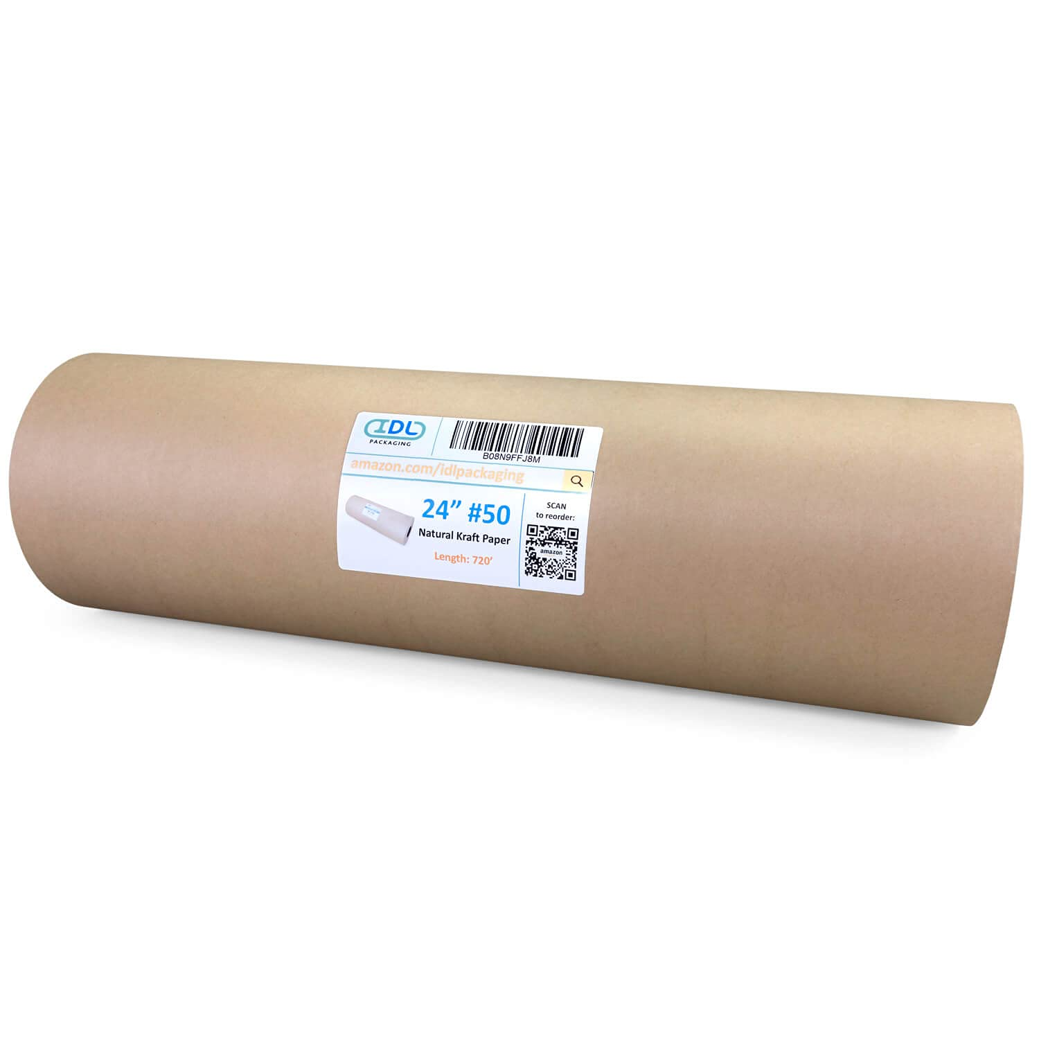 IDL Packaging Kraft Paper Roll Special price 24