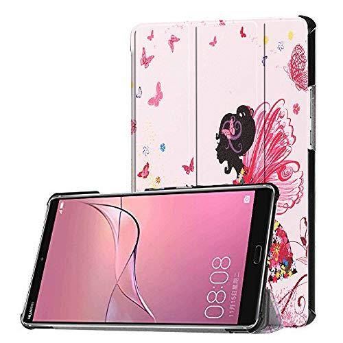 KATUMO Hülle Kompatibel mit Huawei MediaPad M5 8.4 - Ultra Slim Leder Tasche Hülle Skin für Huawei MediaPad M5 8.4 Zoll 2018 Modell Tablet PC Schutzhülle Smart Hülle Cover mit Standfunktion