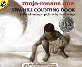 Moja Means One: Swahili Counting Book (Picture Puffin Books)