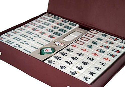 Asian Home Traditional Chinese Version Mahjong Game Set