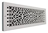 SMI Ventilation Products VBB622 Cold Air Return - 6 in x 22 in Victorian Style Base Board - Overall Dimensions 8 in x 24 in