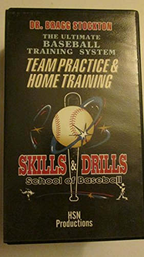 Dr. Bragg Stockton The Ultimate Baseball Training System Skills & Drills - Team Practice & Home Training [VHS Tape] 1997