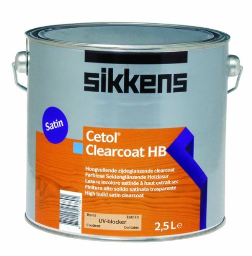 Sikkens Cetol Clearcoat HB auf Sikkens Novatech 2,500 L
