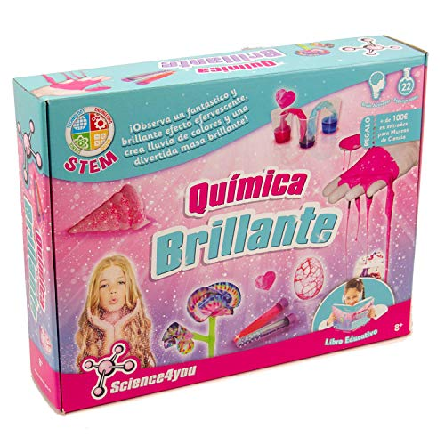 Science4you - Química Brillante Juguete científico y educativo stem (605244)