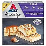 Atkins Endulge Treat Dessert Bar Dulce De Leche Cake, 5 Count