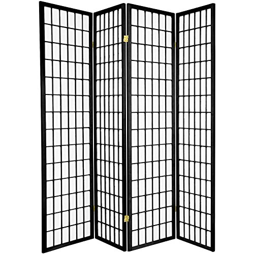 Legacy-Decor-3-4-6-5-8-Panels-Room-Divider-Screen-Partition-Shoji-Style-6-ft-Tall