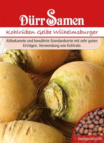 Kohlrüben (Erdkohlrüben) Gelbe Wilhelmsburger