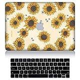 BEARJ Housse de Protection en Plastique Rigide pour Macbook Air 13' avec Housse de...