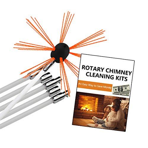 Chimney Brush-Original CyclonePlus 26.5ft Length Electrical...