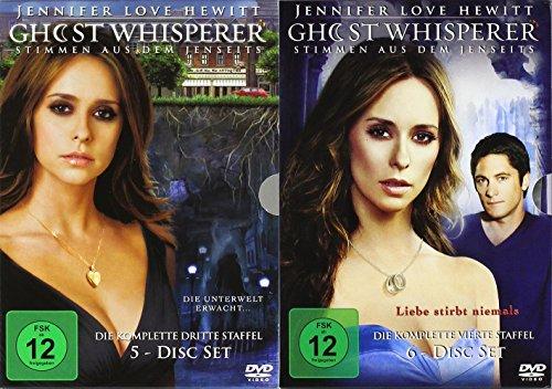 Ghost Whisperer - Die komplette 3. + 4. Staffel (11-Disc   2-Boxen)