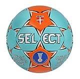 SELECT Ballon de Handball Ultimate 2012 Multicolore Hellblau/Orange 2