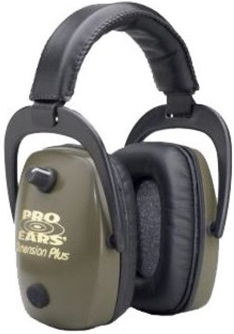Pro Ears ProSlim Free shipping anywhere in the nation Gold Electronic NRR Super Special SALE held Earmuffs 28 dB