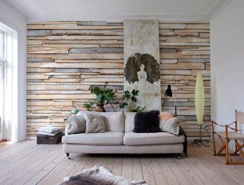 mural - Whitewashed Wood