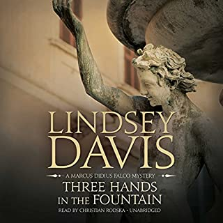 Three Hands in the Fountain audiobook cover art