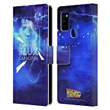 Head Case Designs Officially Licensed Back to The Future Flux Capacitor I Quotes Leather Book Wallet Case Cover Compatible with Samsung Galaxy M51 (2020)