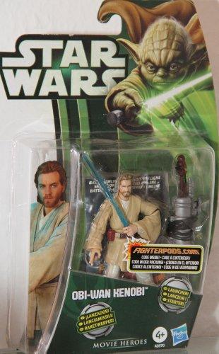 Star Wars - Obi-WAN Kenobi MH03 - grüne Karte / Verpackung - Movie Heroes - Hasbro