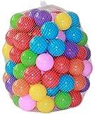 XinGye 100 Pelotas , Bolas de Colores Bolas de plastico niños Juguetes para bebés natación Pelotas natación para Niños Piscina