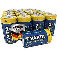 VARTA Industrial - Pilas alcalinas D / LR20 / Mono (pack de 20 Unidades, 1.5 V)
