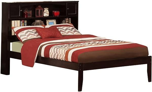 Atlantic Furniture AR8531001 Newport Platform Bed With Open Foot Board Full Espresso