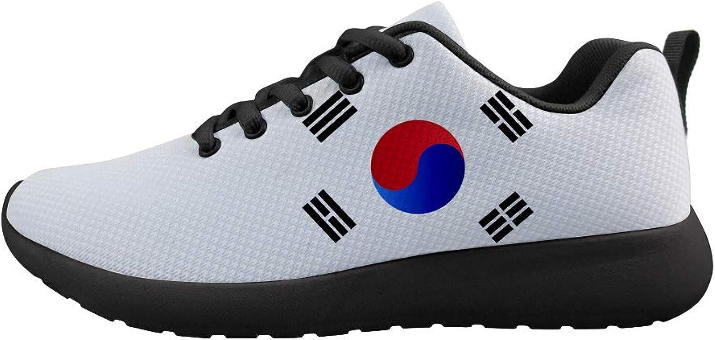 Owaheson Cushioning Sneaker Trail Running shoes Mens Womens Korea Flag
