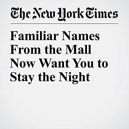 Familiar Names From the Mall Now Want You to Stay the Night copertina
