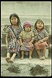 189093 Tzutuil Mayan Children Santiago De Atitlan Guatemala