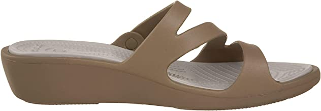 crocs Women's Patricia White Rubber Fashion Sandals