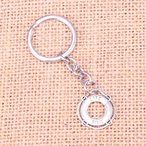 N/ A Lebensring Rettungsring Charm Anhänger Schlüsselbund Schlüsselring Kette Zubehör Schmuckfür Geschenke