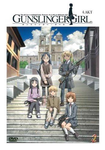 Gunslinger Girl, Vol. 04 (Episoden 11-13 mit Manga Vol. 1) [Import allemand]