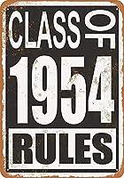 1954年のクラス メタルポスター壁画ショップ看板ショップ看板表示板金属板ブリキ看板情報防水装飾レストラン日本食料品店カフェ旅行用品誕生日新年クリスマスパーティーギフト