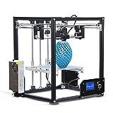 Haute Précision Imprimante 3D Carrée Pleine Métal Affichage LCD DIY kit d'imprimante 3D