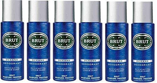 Brut Desodorante Body Spray Océano 200ml 6unidades
