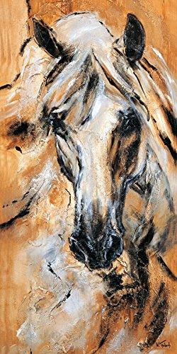 Pferdebild auf Leinwand, Nr. 01-02, Größe: 120 x 60 cm I Atelier Kerstin Tschech