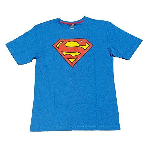 T-SHIRT MAGLIETTA SUPERMAN DC COMICS ESTIVA MANICA CORTA TAGLIE S - M - L - 1230649