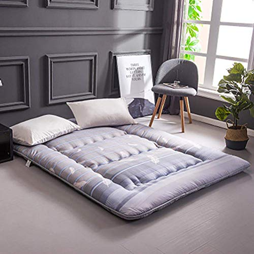ZLJ Alfombrilla de Tatami Antideslizante Plegable para el Suelo para Dormir colchón de Cama para el Dormitorio de la Sala de Estar Cama para el Suelo de Tatami C 90x200cm (35x79 Pulgadas)